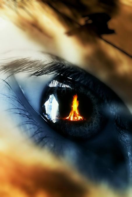 Fire inside
