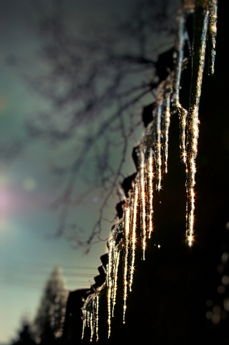 Icicle Point of View